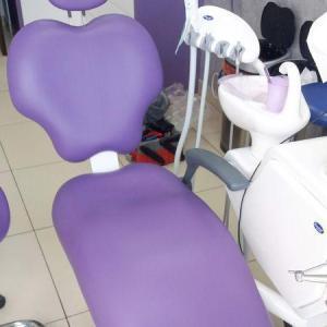 fotel fioletowy