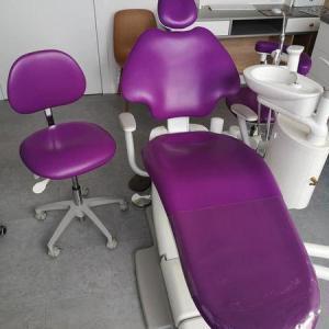 fotel jasno-fioletowy